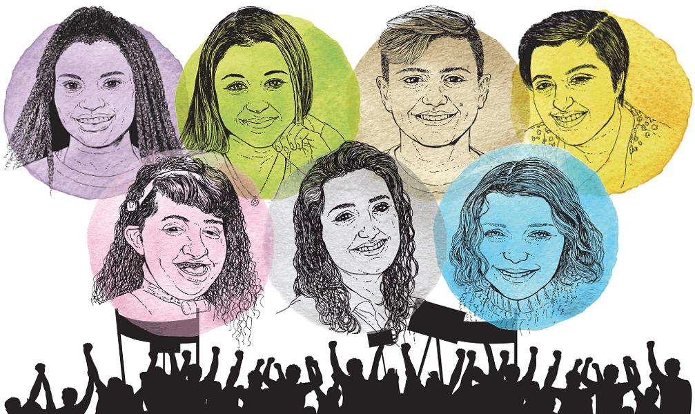 Joelyn Mensah, Lauren Ryea, Nathan Degroot, Hannah Pendyah, Molly Thompson, Celine Morris, Greta Solsaa - AARON SHREWSBURY