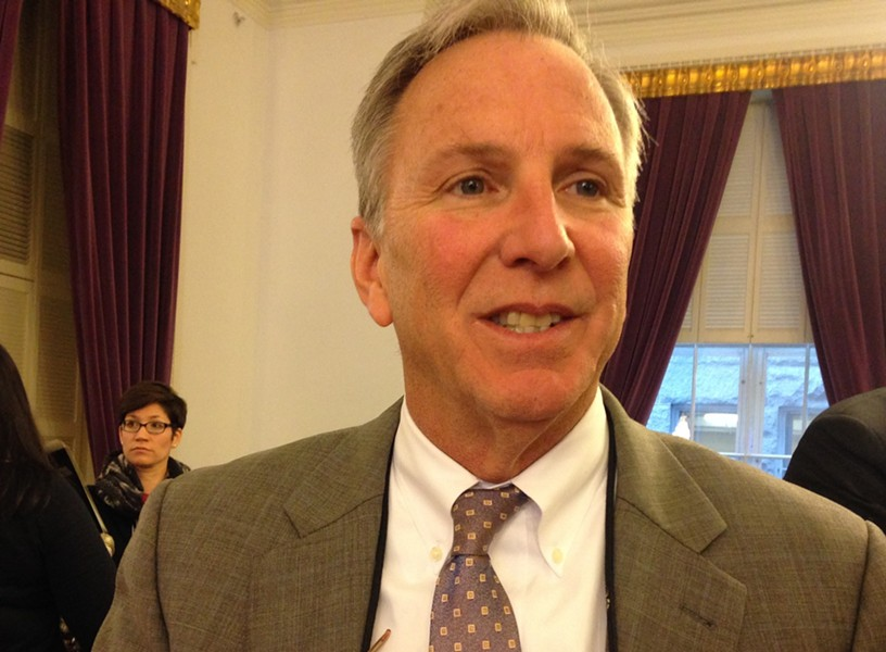 Vermont Public Safety Commissioner Tom Anderson - MOLLY WALSH