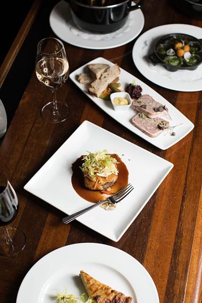 Special menu offerings - BRENT HARREWYN