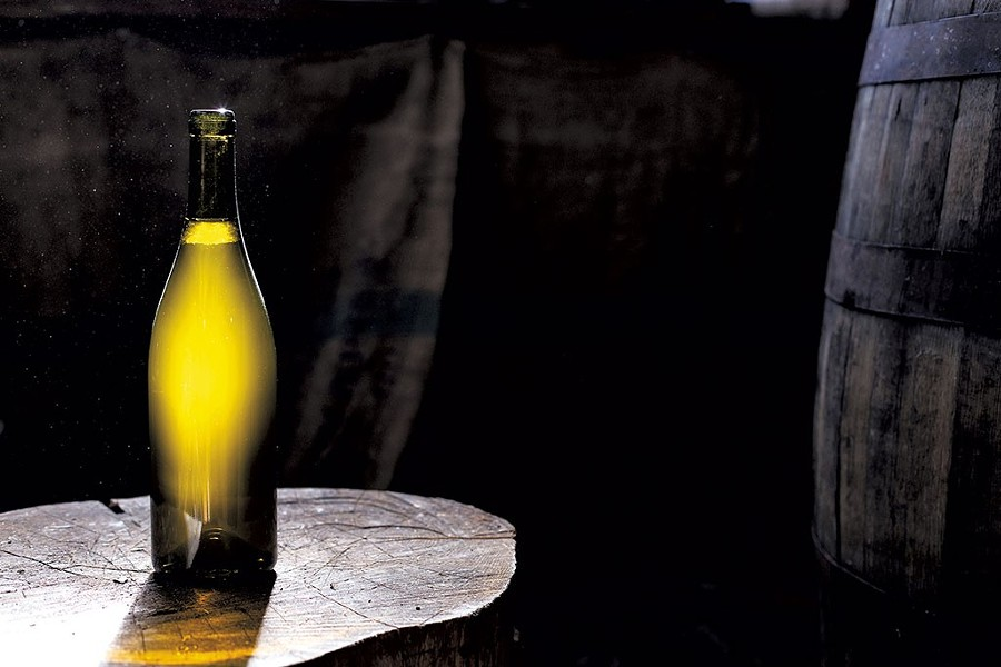 Fable Farm Fermentory cider wine. - COURTESY OF ANDREW WHITE
