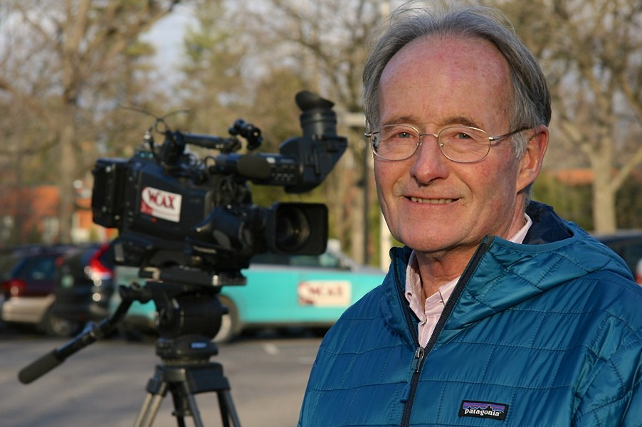 Former WCAX senior photographer Bob Davis - COURTESY OF BOB DAVIS
