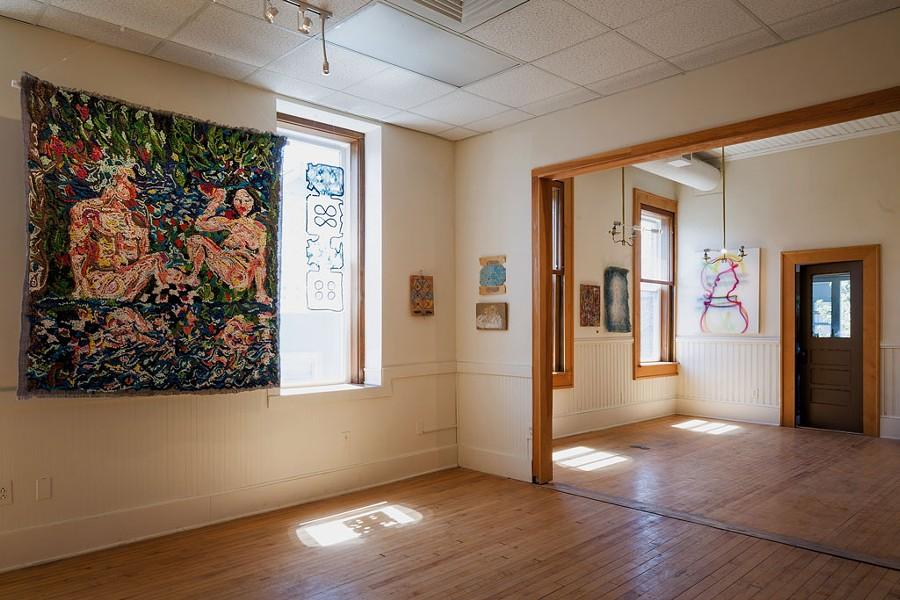 """Optimist Prime"" show at Burlington's New City Galerie - OLIVER PARINI"