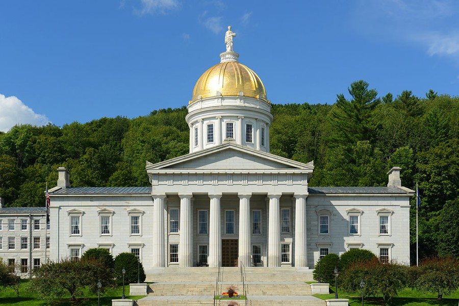 Vermont Statehouse - WANGKUN JIA | DREAMSTIME.COM