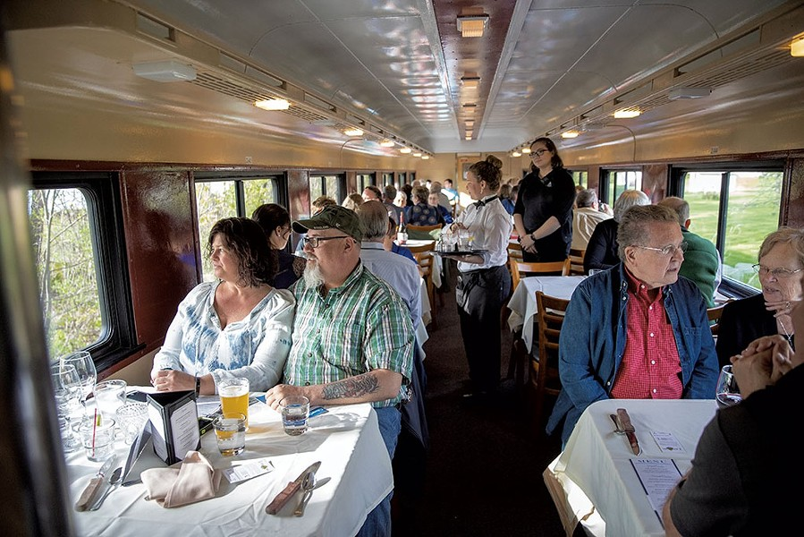 Champlain Valley Dinner Train - EVA SOLLBERGER
