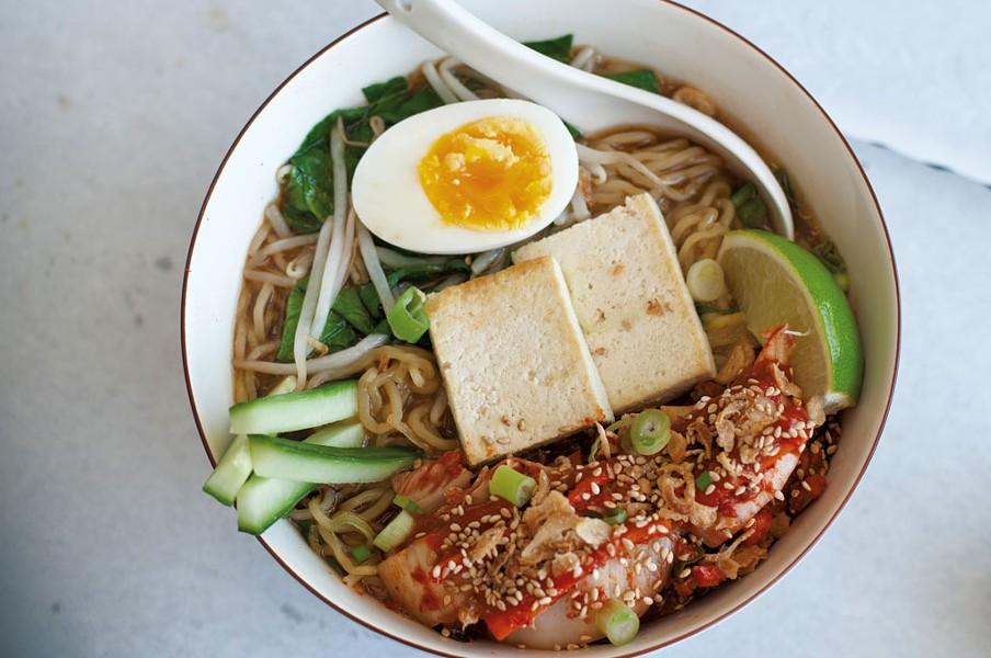 Kimchi-tofu ramen - HANNAH PALMER EGAN