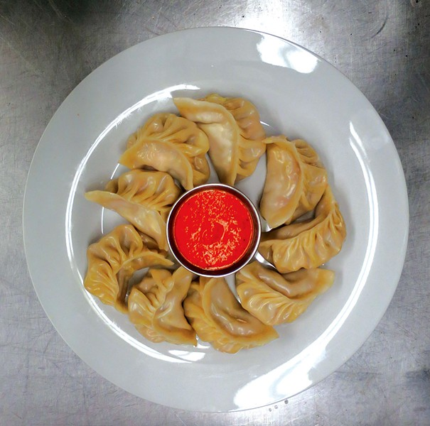 Momo dumplings - MATTHEW THORSEN