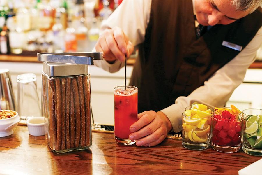 Crafting a cocktail - SARAH PRIESTAP