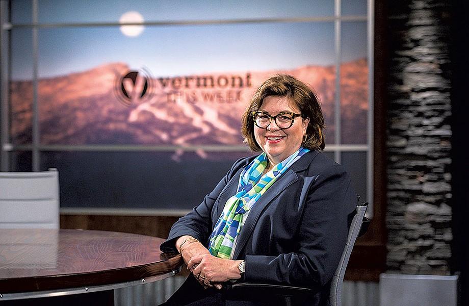 Vermont PBS president, Holly Groschner - GLENN RUSSELL