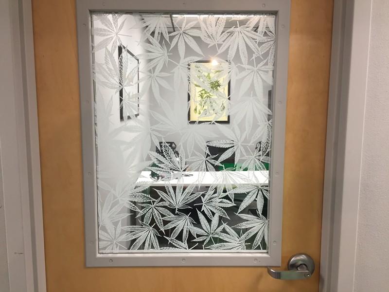 The door to an office - SASHA GOLDSTEIN