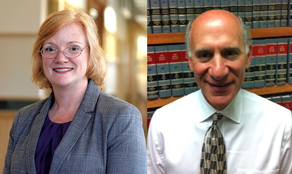 Erica Marthage and Arnie Gottlieb