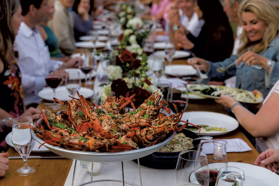 Farm Table Fridays dinner at Stowe Mountain Lodge - COURTESY OF JESSE SCHLOFF PHOTOGRAPHY