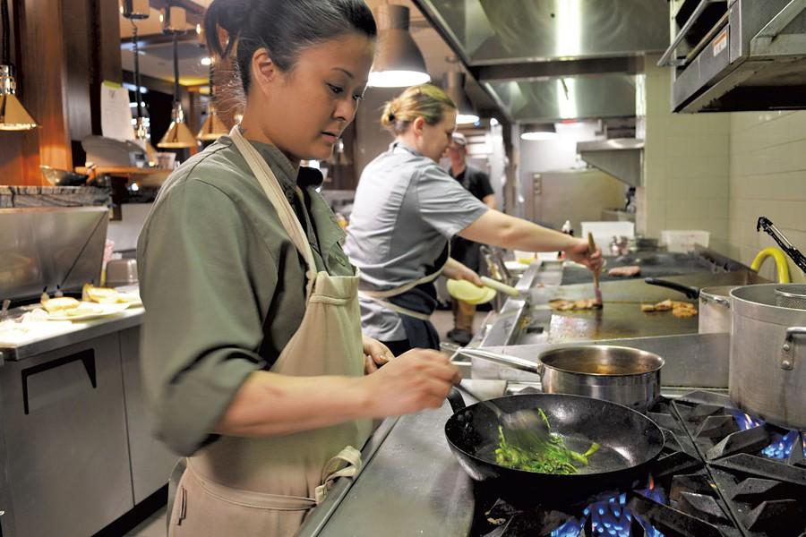 Chef Jacqueline Cochran - COURTESY OF JESSE SCHLOFF PHOTOGRAPHY