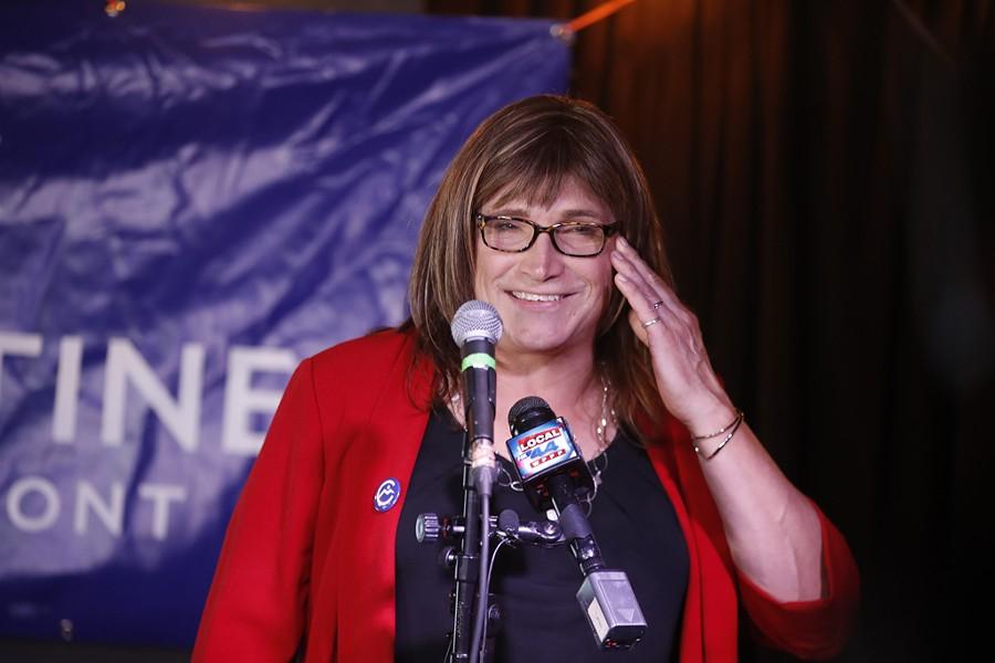 Christine Hallquist - JAMES BUCK