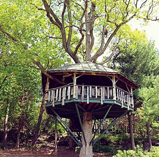 The treehouse at Oakledge Park - CAROLYN FOX