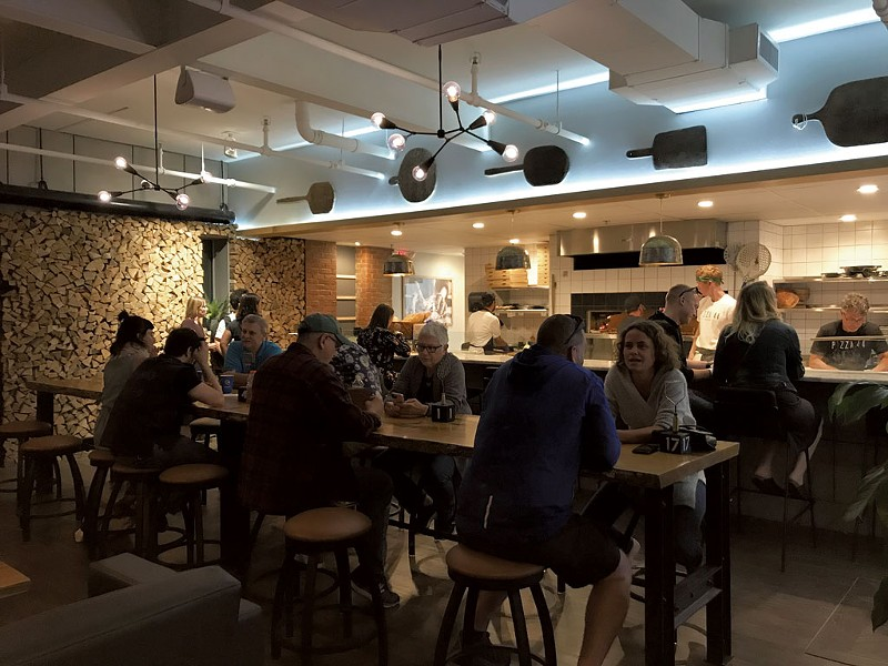 Pizza 44 on Burlington's Pine Street - SALLY POLLAK