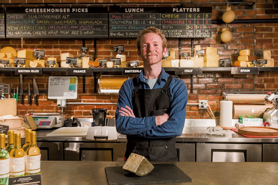 New Dedalus cheesemonger John O'Brien - OLIVER PARINI