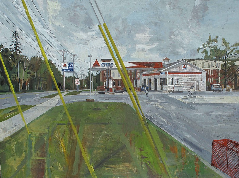 """CITGO Rt. 7"" by Peter Fried"