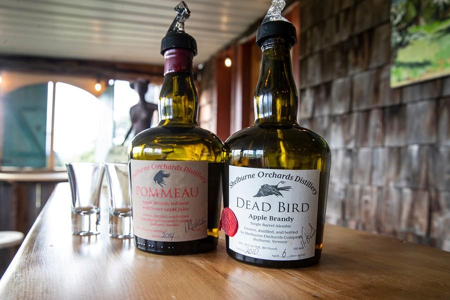 Shelburne Orchards Brandy - JAMES BUCK
