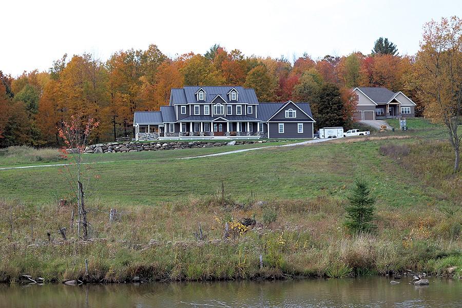 Corey Bertrand's property in Franklin - PAUL HEINTZ