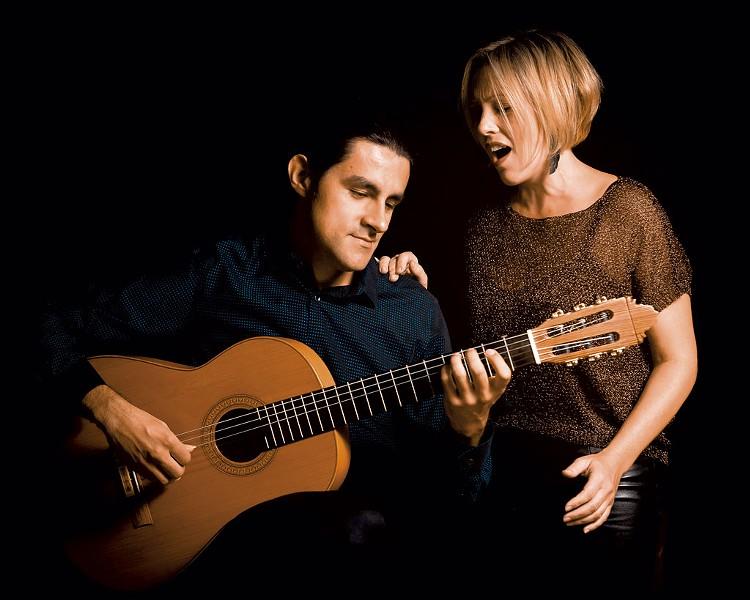 8 Cuerdas (Sarah Cullins and Daniel Gaviria) - COURTESY OF SARAH CULLINS