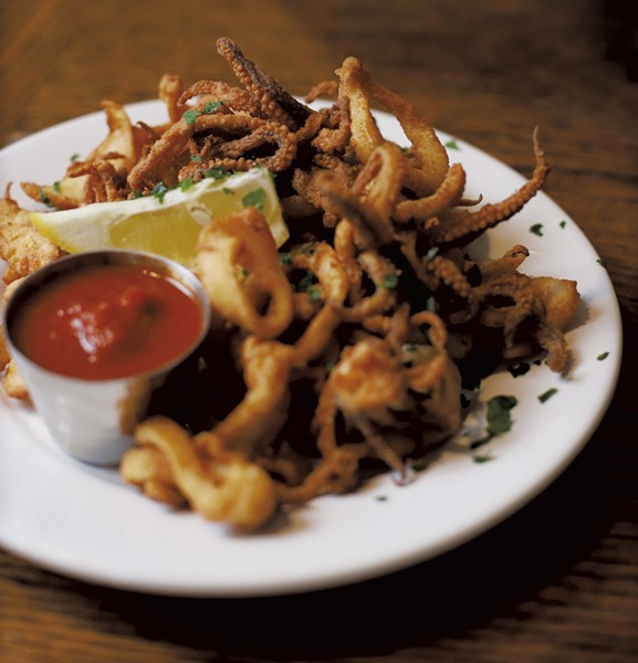 Fried calamari - SARAH PRIESTAP