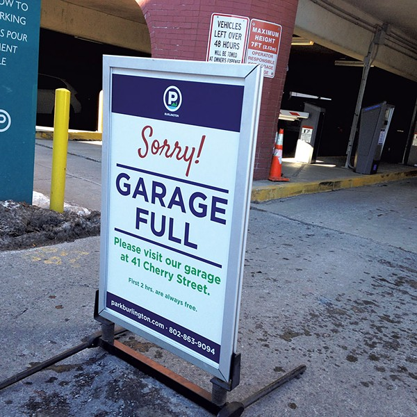 Marketplace Garage in Burlington - MOLLY WALSH