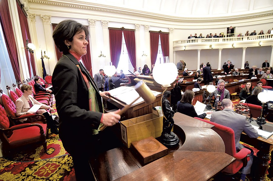 House Speaker Mitzi Johnson - FILE: JEB WALLACE-BRODEUR
