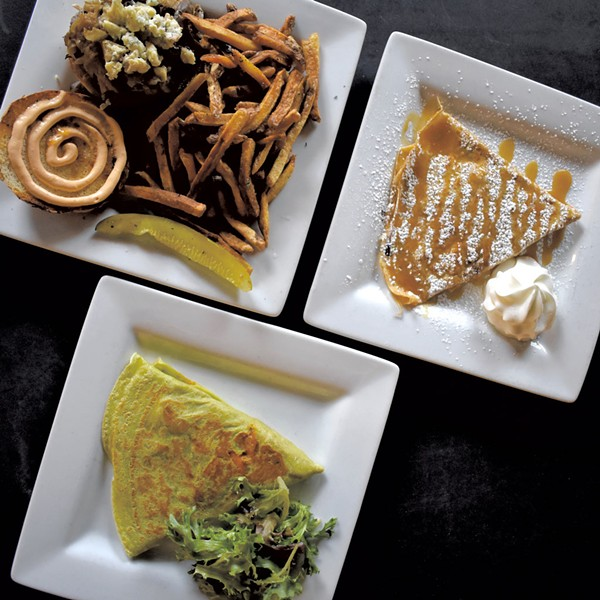 Dishes at the Skinny Pancake - COURTESY OF SKINNY PANCAKE
