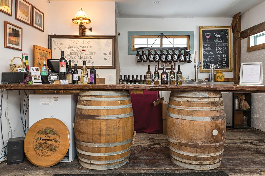 Foley Brothers Brewing and Neshobe River Winery in Brandon - OLIVER PARINI
