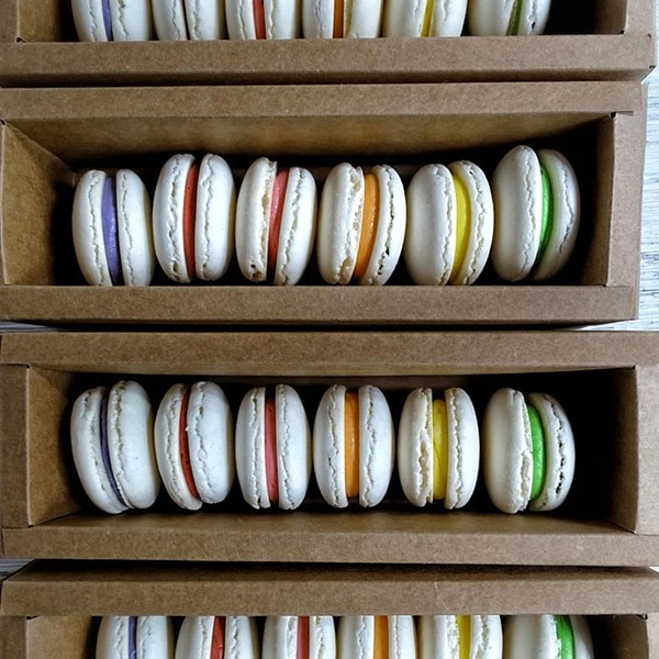 Macarons from North Country Cakes - COURTESY OF NORTH COUNTRY CAKES