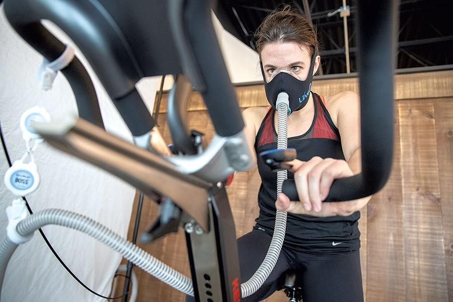 Oxygen interval training - JAMES BUCK