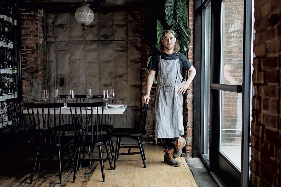Chef Michael Judy - OLIVER PARINI