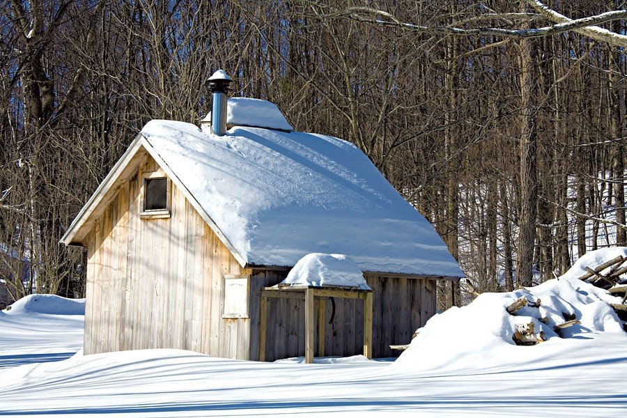 A sugar shack in Vermont - ©DREAMSTIME.COM/ DAVID LLOYD