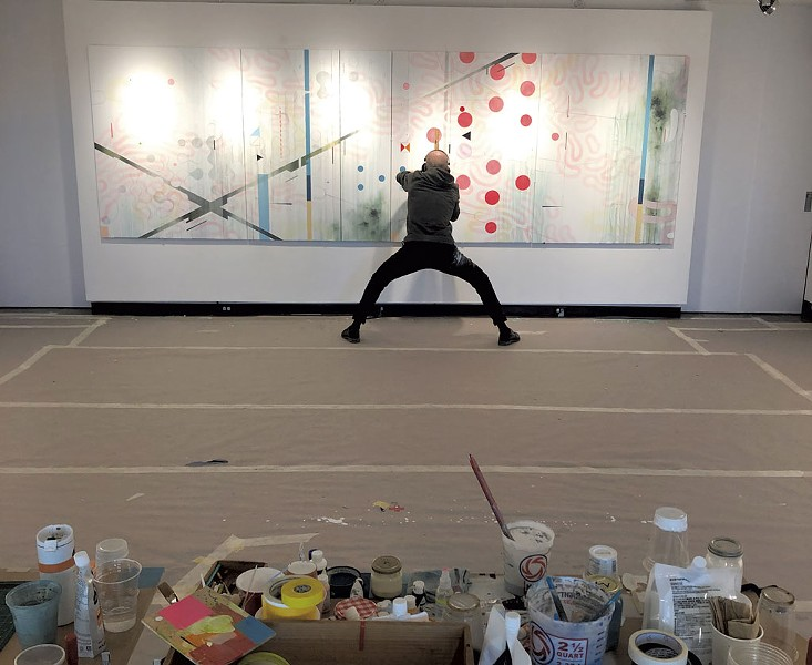 Scott André Campbell - PHOTOS COURTESY OF DANA HEFFERN/CHAMPLAIN COLLEGE ART GALLERY