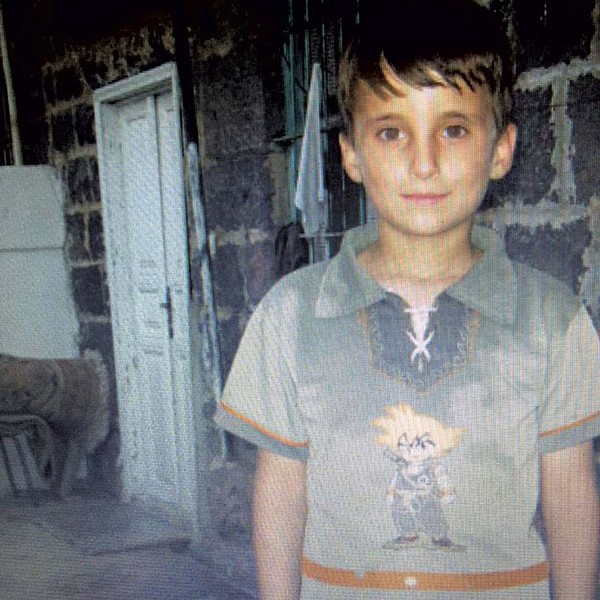 Majd Alabas in Syria, age 9 - COURTESY OF MAJD ALABAS