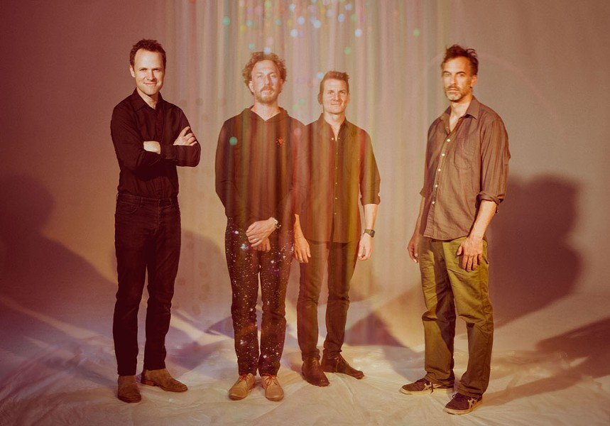 From left: Luke Reynolds, Ryan Miller, Adam Gardner and Brian Rosenworcel - COURTESY OF ALYSSE GAFKJEN
