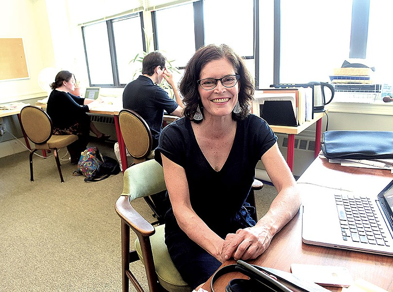 VTDigger founder and editor, Anne Galloway - FILE: JEB WALLACE-BRODEUR