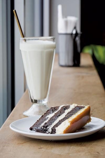 Chocolate stout cake at Sweet Babu - OLIVER PARINI