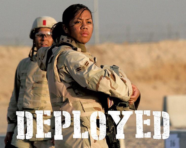 Poster image for Deployed - COURTESY OF SGT. EZEKIEL R. KITANDWE/U.S. MARINE CORPS