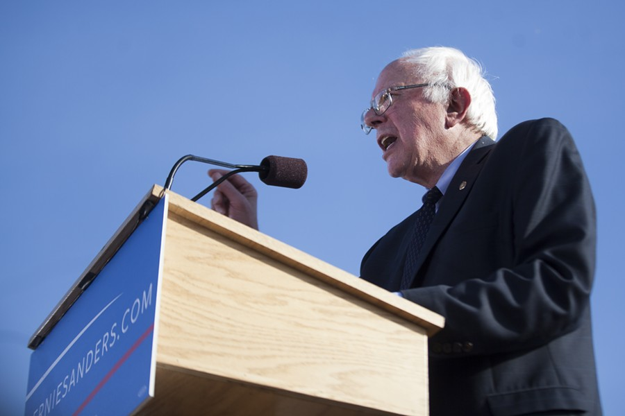 Sen. Bernie Sanders - FILE: JAMES BUCK