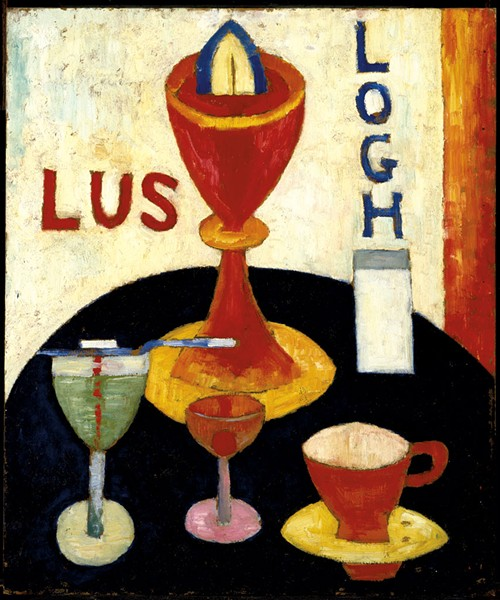 """Handsome Drinks"" by Marsden Hartley"