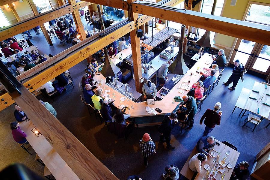 von Trapp Brewing Bierhall Restaurant - JEB WALLACE-BRODEUR