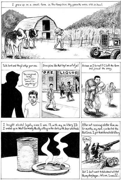 Excerpted from Kelly Swann and J.D. Lunt's comic
