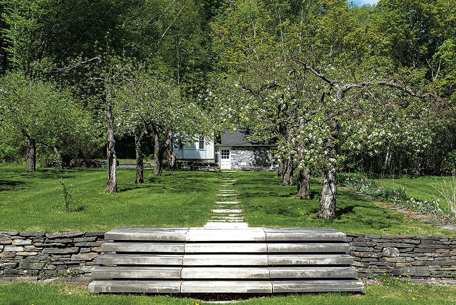 Currier Farm in Danby, Vt. - COURTESY OF THE CULTURAL LANDSCAPE FOUNDATION