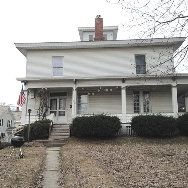 The house at 109 Main Street in Winooski, known as 'the mansion' - FILE: MOLLY WALSH