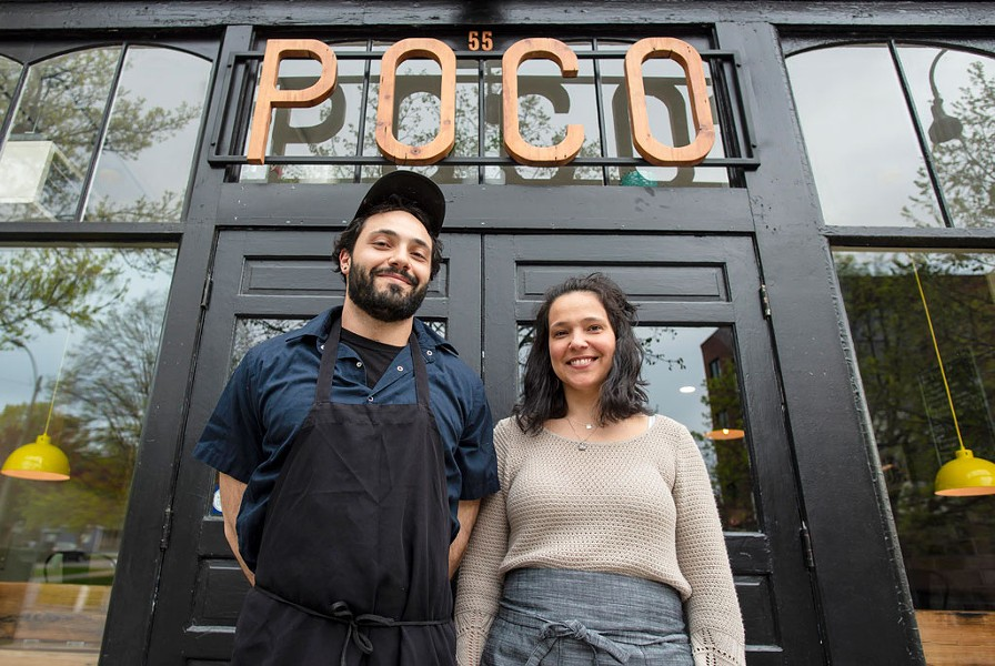 Poco co-owners and siblings Stefano Cicirello and Susie Ely - GLENN RUSSELL