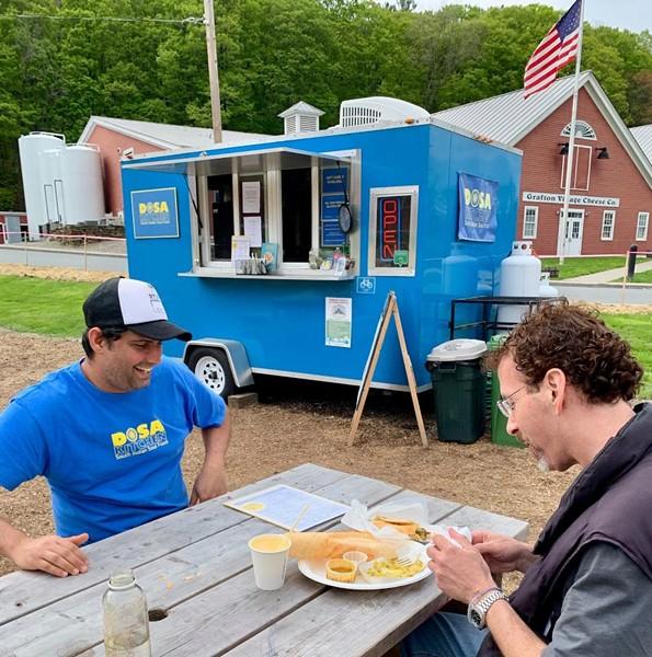 Dosa Kitchen food truck in Brattleboro - COURTESY OF DOSA KITCHEN
