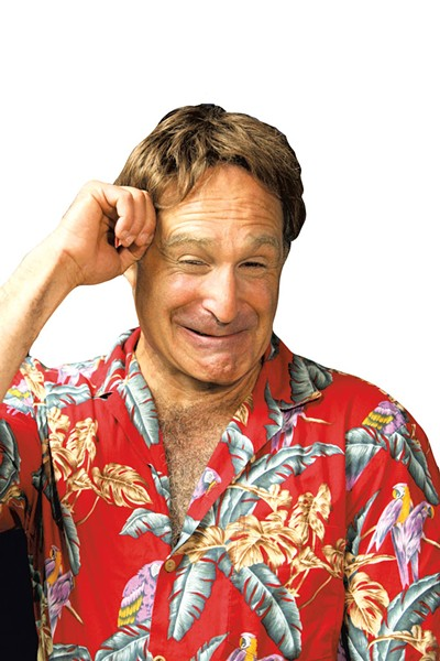Roger Kabler as Robin Williams - COURTESY OF THE STRAND CENTER FOR THE ARTS