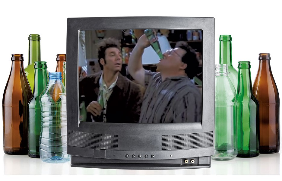 "Still from ""The Bottle Deposit"" episode on ""Seinfeld"" - PHOTO ILLUSTRAION KIRSTEN CHENEY"