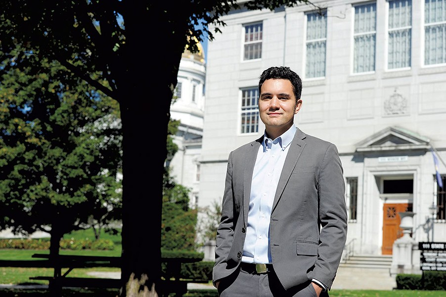 ACLU of Vermont attorney Jay Diaz - FILE: JEB WALLACE-BRODEUR